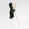 LOCK Porte manteaux sur pied Design - Noir