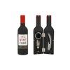 Set sommelier 3 accessoires Petite bouteille de vin