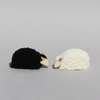 Mouton couché miniature déco Blanc