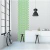Lé de papier peint - 7008 - Cube 3D vert