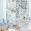 Papier peint panoramique - 8008 - Versailles et ses promenades noir et blanc