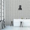 Rouleau de papier peint - 9006 - Cube 3D gris et crème