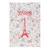 Cahier Paris Fleurs Liberty - Papeterie Originale