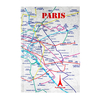 Cahier Plan de métro Paris Eclair - Papeterie originale
