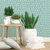 Rouleau de papier peint - 9032 - Cocottes vert