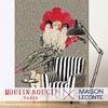 Papier peint panoramique - 8603 - Décor - Jolies Gambettes - Moulin Rouge