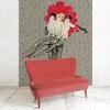 papier peint maison leconte moulin rouge paris gesmar