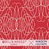 Rouleau de papier peint - 9027 - Perles festival - Moulin Rouge