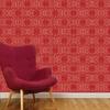 FESTIVAL moulin rouge maison leconte paris papier peint histoire