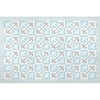tapis louise bleu clair
