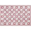 tapis louise rouge