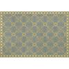 tapis lola gris-jaune