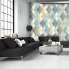 Le-de-papier-peint-geometrique-triangle-salon