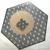 tapis-vinyle-hexagonal-andalouz-hexa-bw