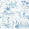 Rouleau de papier peint Catch A Wave bleu