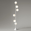 Lampadaire Vertical Globe - Blanc
