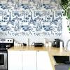 Rouleau de papier peint 9051 La belle vie bleu