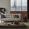 Papier peint adhésif panoramique - PPP1201 - Verrière Paris Noir et Blanc