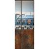 Le papier peint panoramique PPP1200 toits de paris