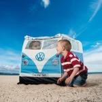 Tente enfants Combi Volkswagen rétro - Bleu
