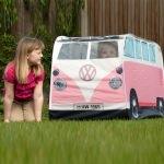 Tente enfants Combi Volkswagen rétro - Rose