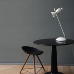 Lampe de table orientable Alouette - Blanc