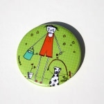 Grand badge - Lili arrose