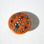 Badge - Anges oranges