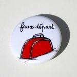 Badge - Faux départ