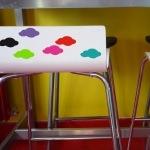 6 stickers Nuages - Couleur