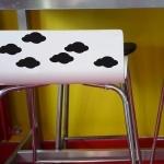 6 stickers Nuages - Noir