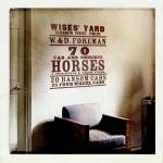 Sticker mural - 70 horses