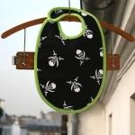 Bavoir des flibustiers - Vert
