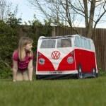 Tente de jeux enfants Combi Volkswagen rétro - Rouge