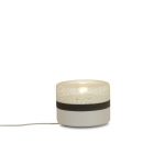 Petite lampe à poser Small Steel Drop - Blanc