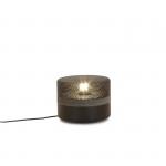 Petite lampe à poser Small Steel Drop - Noir