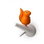 Patères Ecureuils - Orange