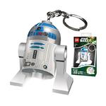 Porte clé lumineux Lego Star Wars R2D2