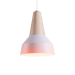 Lampe Suspension Eikon Métal Tie and Dye - Rose