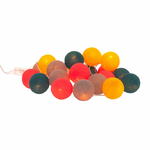 Guirlande lumineuse LED Boules colorées Funky - Kitsch Kitchen