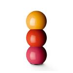 Moulin à poivre et à sel Bakelite 57 - Jaune, orange et rose