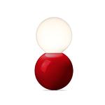 Lampe de table Ball Lamp LT 127 S - Rouge