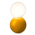 Lampe de table Ball Lamp LT 127 S - Jaune