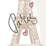 Lé de papier peint - JMM1409027 - Collection Comme les grands - Paris chic