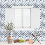 Rouleau de papier peint - 9002 - Bienvenue en France bleu