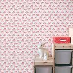 Rouleau de papier peint - 9004 - Bienvenue en France rouge