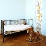 Lé de papier peint - 7501 - Toise animaux enfant