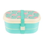 Bento Lunch Box Flamingo