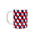 Mug Paris Cube 3D Bleu Blanc Rouge