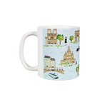 Mug Monuments de Paris Bleu